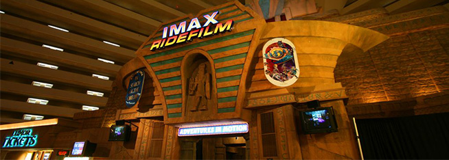 The IMAX Ridefilm At The Luxor by Cayusa on Flickr