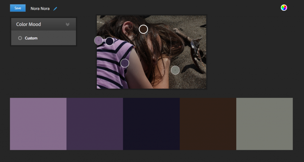 Adobe Kuler color picker